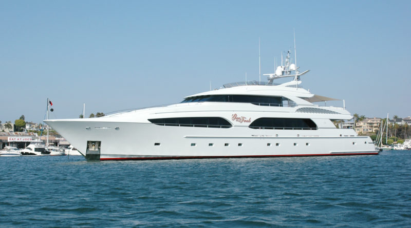 Superyachts in Orange County's waters